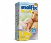 Molfix Подгузники для новорожденных 1 (2-5 кг) 44 шт.