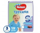 Huggies Подгузники-Трусики для мальчиков 3 (7-11 кг) 19 шт.