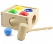 Деревянная игрушка Мир деревянных игрушек (МДИ) Стучалка Шарики