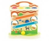 Деревянная игрушка Мир деревянных игрушек (МДИ) Горка-шарики большая