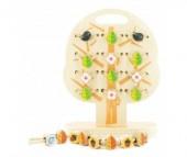 Деревянная игрушка Мир деревянных игрушек (МДИ) Дерево-шнуровка