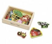 Деревянная игрушка Melissa & Doug Магнитные игры Ферма