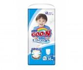 GooN Подгузники-трусики BIG (XL) для мальчиков (12-20 кг) 40(38) шт.