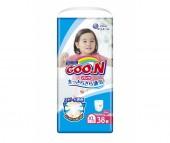GooN Подгузники-трусики BIG для девочек (12-20 кг) 38 шт.