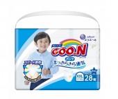GooN Подгузники-трусики для мальчиков BIG (13-25 кг) 28 шт.