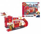 Dickie Пожарный Сэм Пожарный гараж