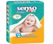 Senso Baby Подгузники Ecoline мини (3-6 кг) 52 шт.