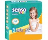 Senso Baby Подгузники Ecoline юниор (11-25 кг) 32 шт.
