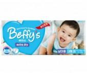 Beffy's Подгузники для мальчиков extra dry L (9-14 кг) 38 шт.
