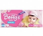 Beffy's Подгузники для девочек extra dry L (9-14 кг) 38 шт.