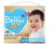 Beffy's Подгузники для мальчиков extra dry XL (13+ кг) 32 шт.