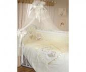 Комплект в кроватку Золотой Гусь Рафаэлло 125х65 (10 предметов)