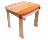 I'm toy Стол для рисования с держателем для рулона бумаги и контейнером