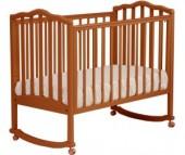 Детская кроватка Кубаньлесстрой АБ 19.0 Жасмин качалка без ящика