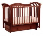 Детская кроватка Кубаньлесстрой БИ 10.2 Азалия маятник поперечный