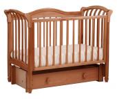 Детская кроватка Кубаньлесстрой БИ 10.3 Азалия маятник продольный