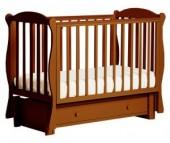 Детская кроватка Кубаньлесстрой БИ 42.3 Кубаночка-6 маятник продольный