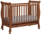 Детская кроватка Кубаньлесстрой АБ 21.1 Лаванда с ящиком