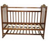 Детская кроватка Ивашка Мой малыш 1 колесо-качалка
