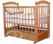 Детская кроватка Можга (Красная Звезда) Ирина С-625 маятник поперечный