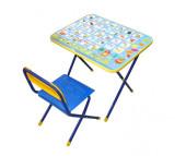 Ника Комплект Познайка (стол+стул пластик)