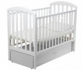 Детская кроватка Papaloni Джованни маятник 120х60
