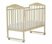 Детская кроватка СКВ Компани Березка 12011 качалка