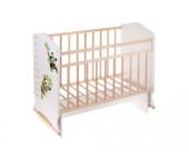 Детская кроватка ВДК Морозко (колесо-качалка с маятником)