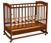 Детская кроватка Ведрусс Радуга №1 качалка