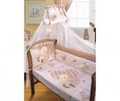 Комплект в кроватку Золотой Гусь Мишутка (7 предметов)