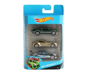 Hot Wheels Набор 3 машинки 5904K
