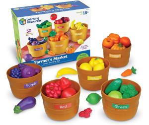Learning Resources Набор Овощи и фрукты Большая