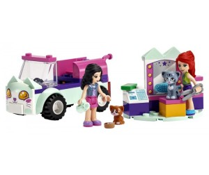 Конструктор Lego Friends 41439 Лего Подружки Передвижной груминг-салон для кошек