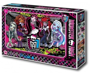 Origami Monster High Пазл 00217 (160 элементов)