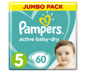 Pampers Подгузники Active Baby Dry Junior р.5 (11-16 кг) 60 шт.