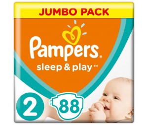 Pampers Подгузники Sleep & Play Mini р.2 (3-6 кг) 88 шт.