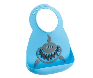 Нагрудник Make my day Baby Bib Shark