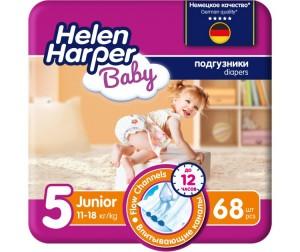 840ce496f5a4 Helen Harper Подгузники Baby Junior (11-18 кг) 68 шт. - Акушерство.Ru