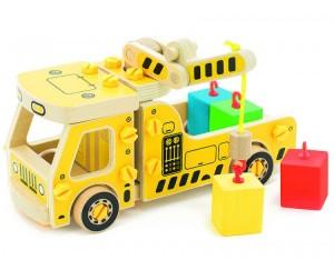 Конструктор Мир деревянных игрушек Машина погрузчик - Акушерство.Ru 07d797e2c18