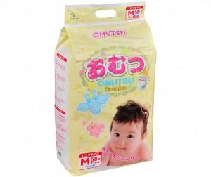 0491bd474465 Omutsu Подгузники-трусики детские M (6-10 кг) 58 шт. - Акушерство.Ru