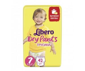 Libero Подгузники-трусики Dry Pants Size 7 (16-26кг), 42 шт ... ba9789b9a45