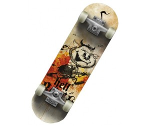 СК Спортивная коллекция Скейтборд SC Hellboy JR Mini-board