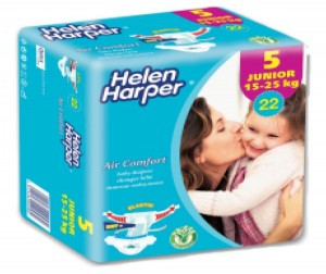 Helen Harper Подгузники Air comfort junior (15-25кг) 22 шт.