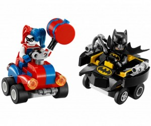 Конструктор Lego Super Heroes Mighty Micros: Бэтмен против Харли Квин