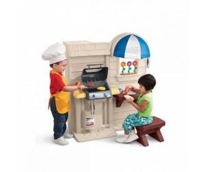 Кухня/барбекю 2 в1 little tikes 450b готовая беседка с барбекю недорого распродажа купить