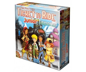 Hobby World Настольная игра Ticket to Ride Junior: Европа