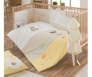 Комплект в кроватку Kidboo Little Bear (6 предметов)