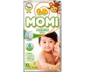 Momi Premium Подгузники-трусики XL (12-20 кг) 36 шт. - Акушерство.Ru 26f88266332