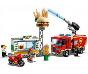 Конструктор Lego City 60214 Fire Пожар в бургер-кафе