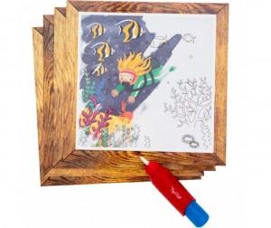 Раскраска Tiger Tribe Набор для рисования водой Океан